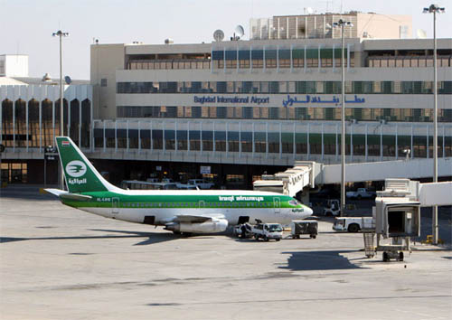 وزير النقل يبحث مع شركة كونسولتا الايطالية سبل تطوير مطار بغداد الدولي