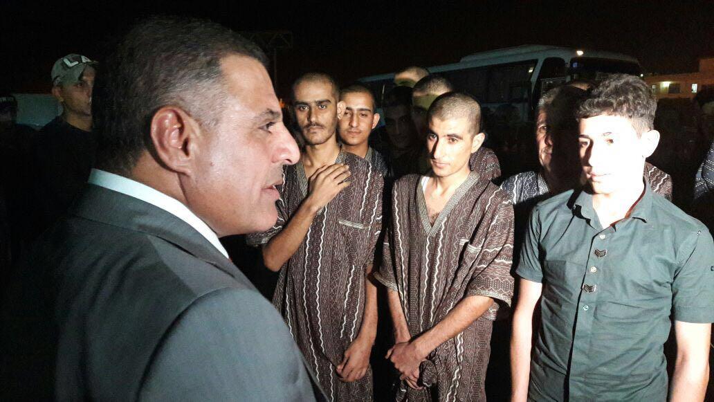 صلاح الدين اطلاق سراح ٤٦ معتقل لم تثبت ادانتهم