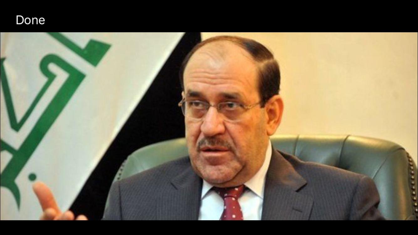 المالكي يرفض ظرب المشروع الاسلامي ويؤكد اان الدستور كتب تحت دوافع الخوف والطمع