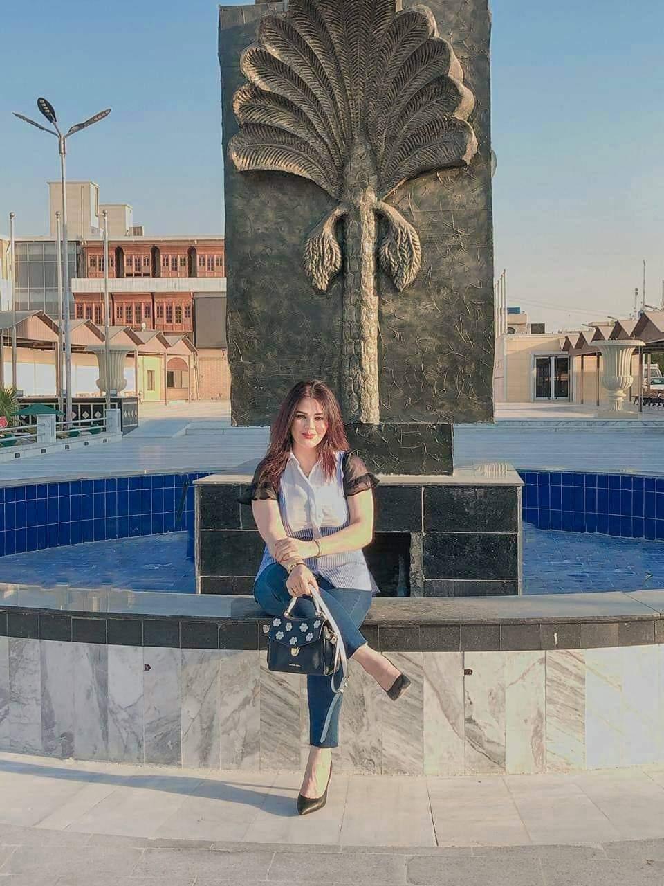 النجمة ايناس طالب تريند الدراما العراقية